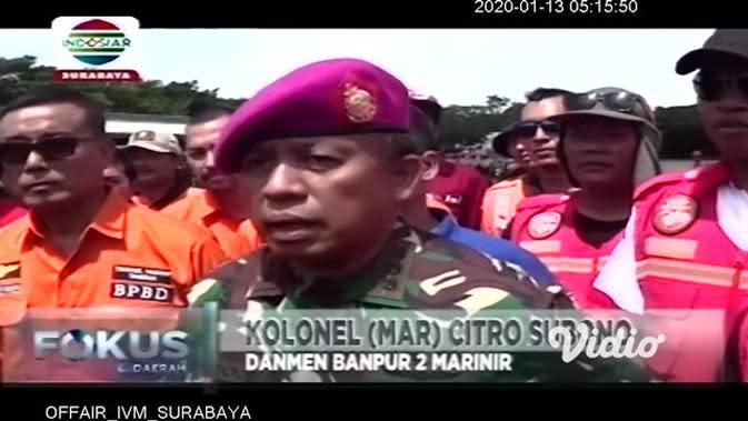 VIDEO : Korps Marinir dan Polri Gelar Tanggap Bencana dan Penanggulangannya