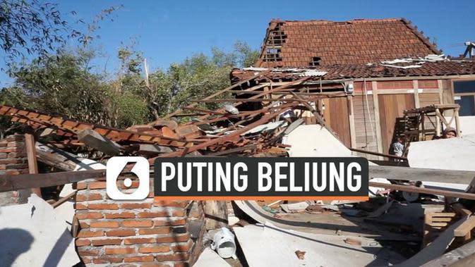 VIDEO: Ratusan Rumah di Demak Diterjang Puting Beliung