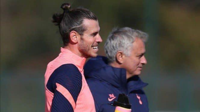 Mourinho Pastikan Bale Belum Bisa Turun di Laga Tottenham Vs West Ham