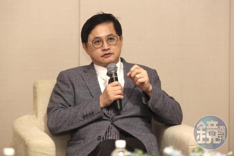 和碩董事長童子賢回應越南巨額投資傳言。