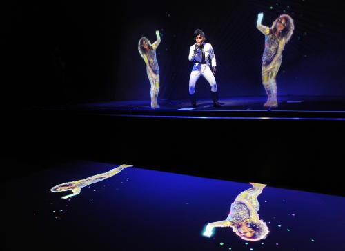 Janelle Monáe and M.I.A. Perform Amazing Bicoastal Hologram Duets
