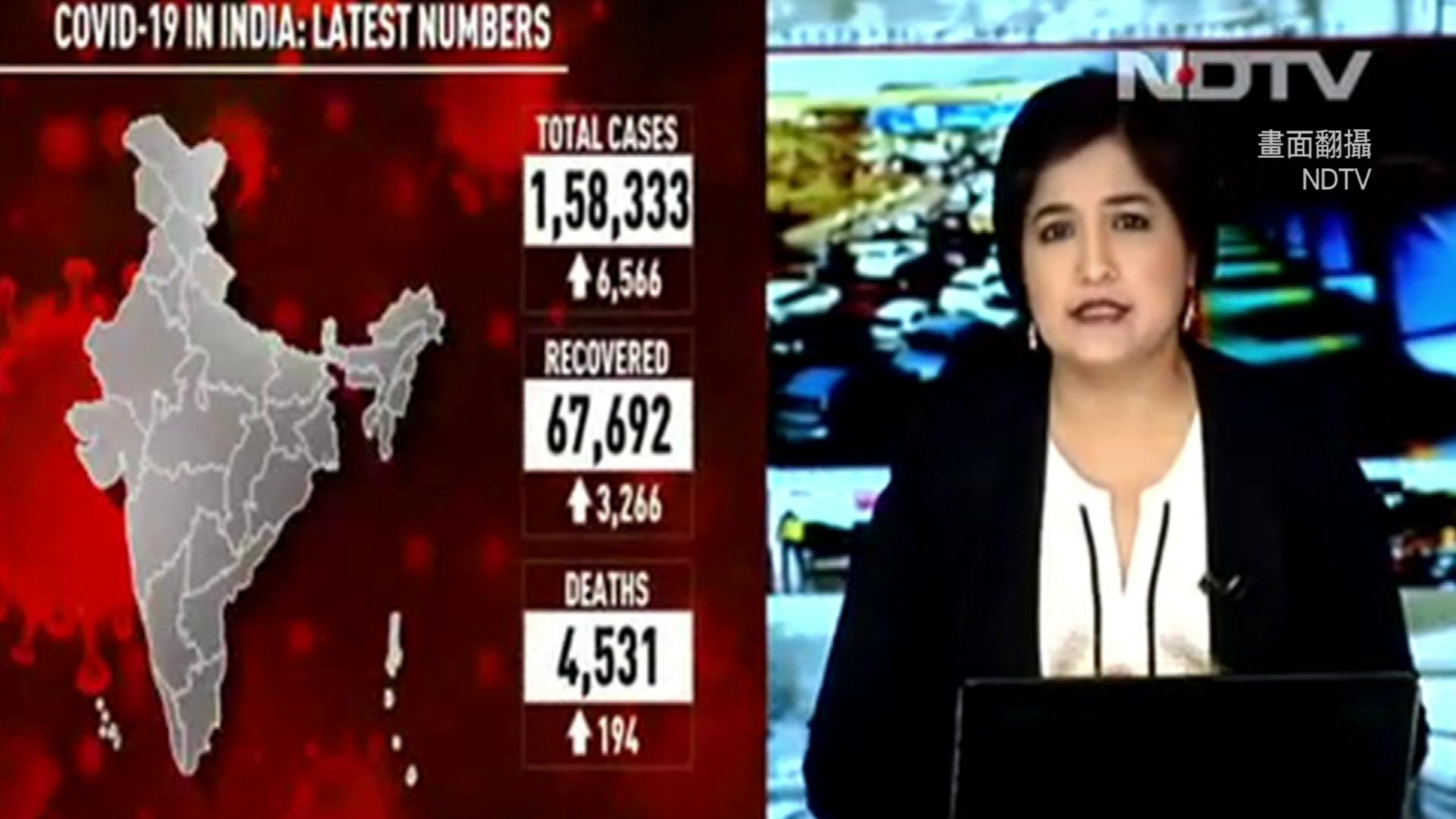 亞洲最慘疫區!印度母飢餓脫水亡 單日暴增7千確診