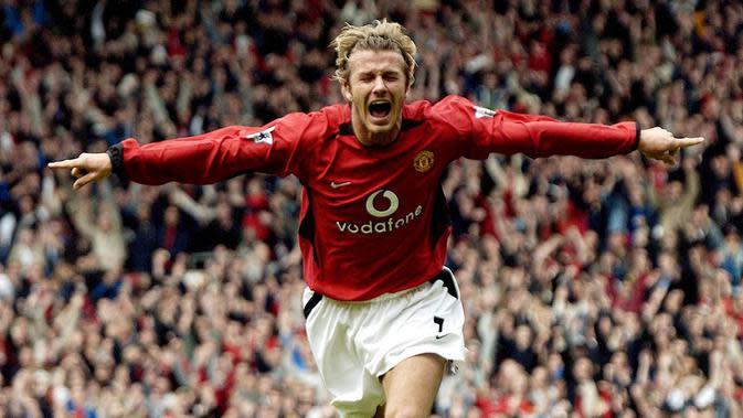 Pesepakbola David Beckham. (AFP/Paul Barker)