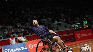 【東京殘奧測試賽】陳浩源日本殘疾人羽賽摘銀