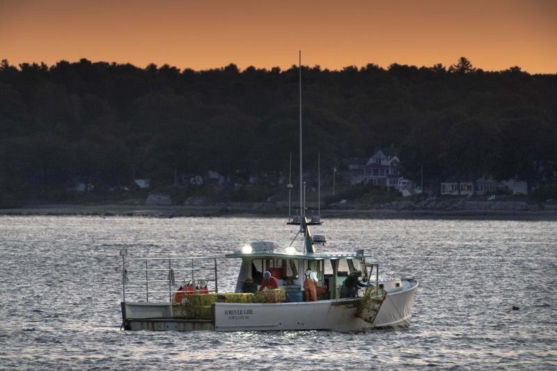 Virus Outbreak Maine Lobster
