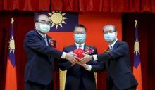 鐘景琨接任移民署長 徐國勇期許開創新局、感謝同仁擋疫情