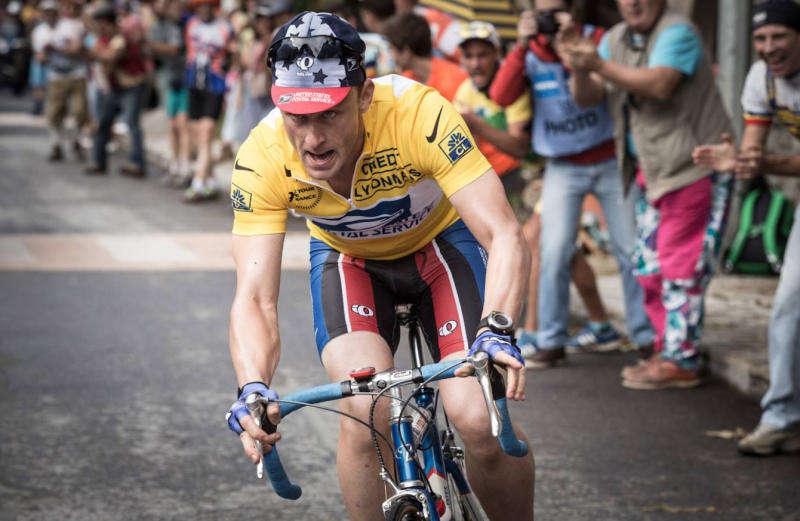 Get a First Glimpse at Ben Foster as Lance Armstrong