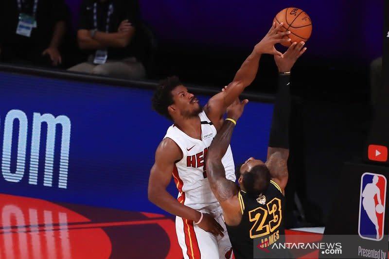 Heat paksa gim keenam final dimainkan usai atasi Lakers 111-108
