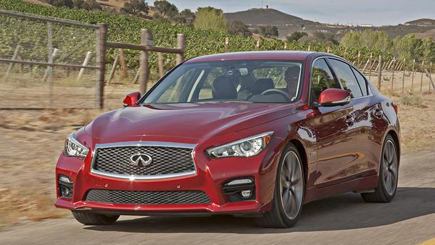 2014 Infiniti Q50, steering by numbers: Motoramic Drives