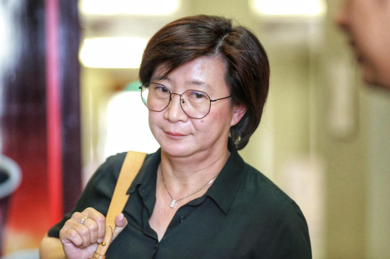Allianz General Insurance branch manager Fang Suat Lim is pictured at Kuala Lumpur High Court December 4, 2019. — Picture by Ahmad Zamzahuri