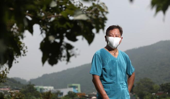 Eddie Tse, convenor of the Save Lantau Alliance. Photo: Xiaomei Chen