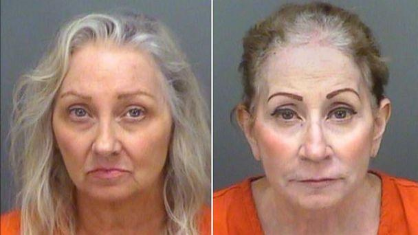 PHOTO: Mary-Beth Tomaselli and Linda Roberts were arrested and charged with first degree murder in the death of their father, killed in 2015 at his home in Florida. (Pinellas County Sheriff's Office )