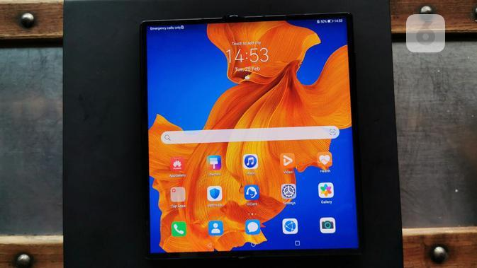 Huawei Mate Xs. Liputan6.com/Andina Librianty