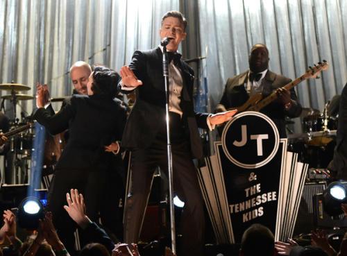 Justin Timberlake Returns to Grammy Stage