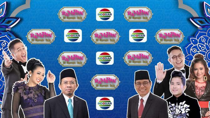 Live Streaming Indosiar Ramadan Di Rumah Saja Episode Sabtu, 9 Mei 2020