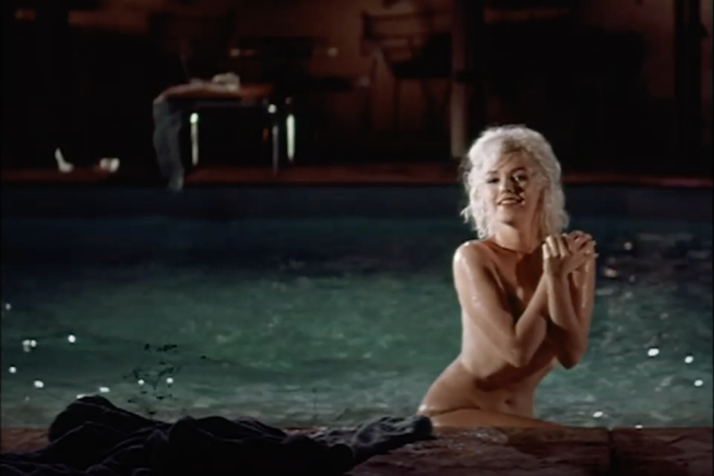 Marilyn Monroe in 'Something's Got to Give' (via YouTube)