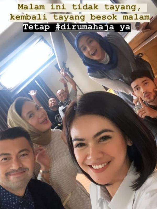 Potret Kompak Dian Nitami dan Aryani Fitriana. (Sumber: Instagram/@istrikedua.official)