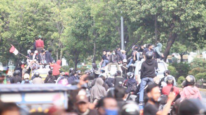 Polisi: KAMI Jabar Sumbang Rp12 Juta Buat Demo Omnibus Law