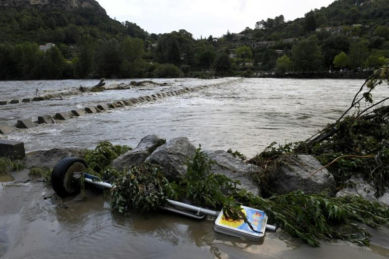 One missing as torrential rain hits southern France