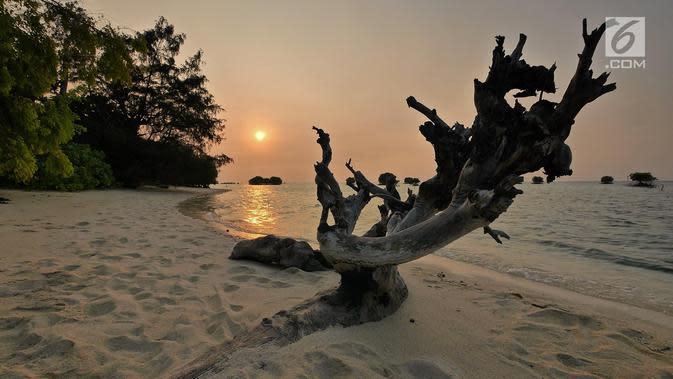 41 Ribu Wisatawan Kunjungi Kepulauan Seribu pada Agustus 2020