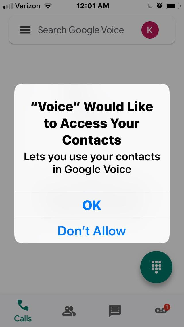 how to set up google voice gv10