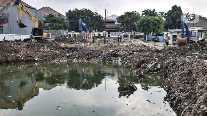 Antisipasi Banjir di Jakarta Timur, 4 Waduk Dikeruk