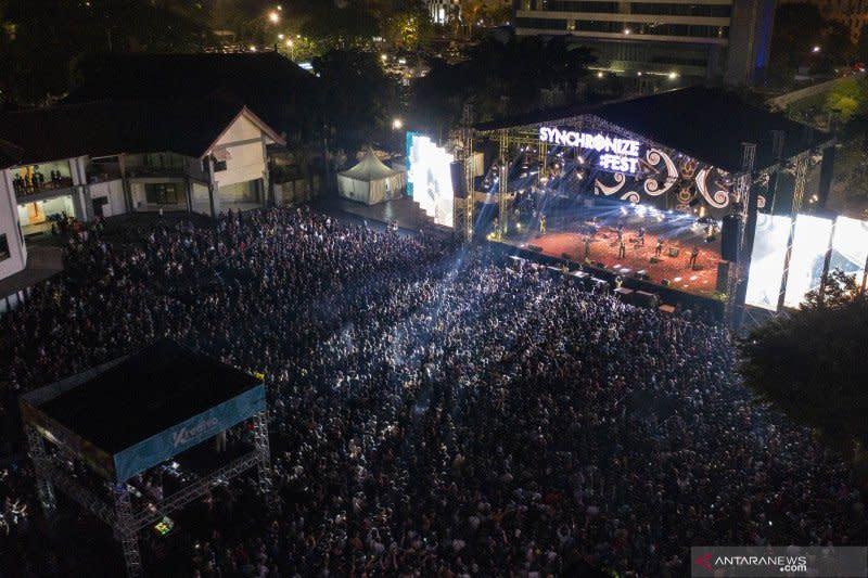 Synchronize Fest 2020 siar di TV nasional