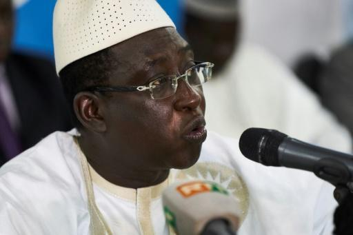 """Malian opposition leader and presidential candidate Soumaila Cisse, pictured August 6, 2018, says they will not accept the """"dictatorship of fraud"""" in Mali"""