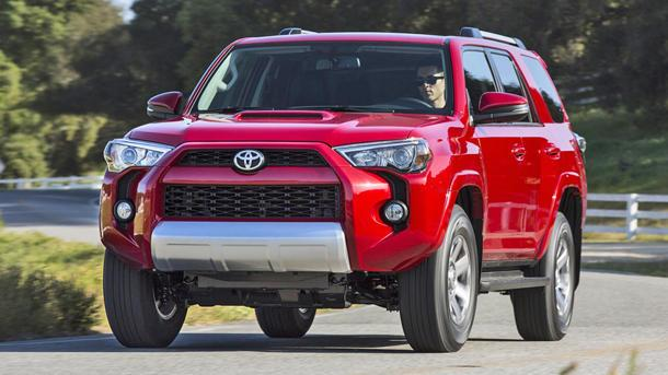 2014 Toyota 4Runner deploys with sharp edges