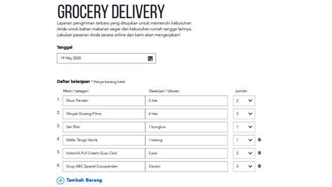 TheLorry Grocer memudahkan Anda berbelanja untuk memenuhi kebutuhan jelang lebaran.