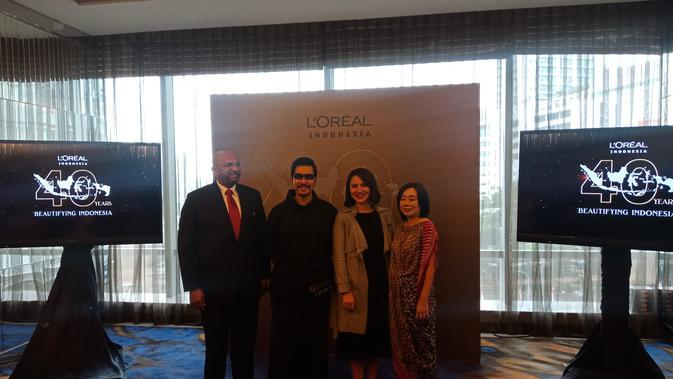 Hadir 40 tahun di Indonesia, L'Oreal memegang nilai universalisasi terhadap pembuatan produk kecantikannya