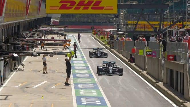 Lewis Hamilton Pole Position di F1 GP Inggris 2020