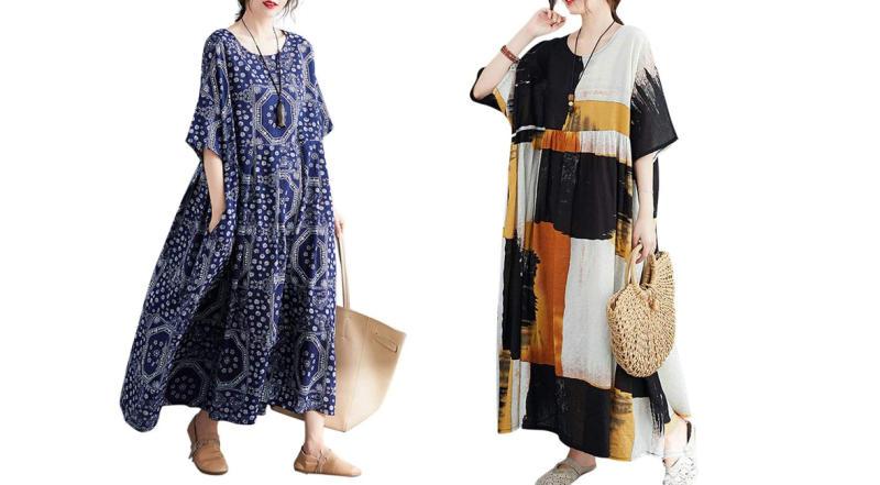 Romacci Casual Cotton Dress(Photo: Amazon)