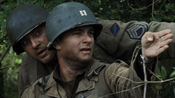 Tom Hanks di Saving Private Ryan. (DreamWorks Pictures/Paramount Pictures)