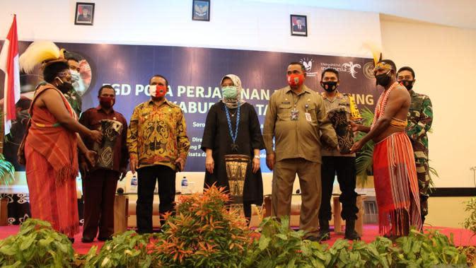 Kemenparekraf kunjungi Tambrauw Papua Barat (istimewa)