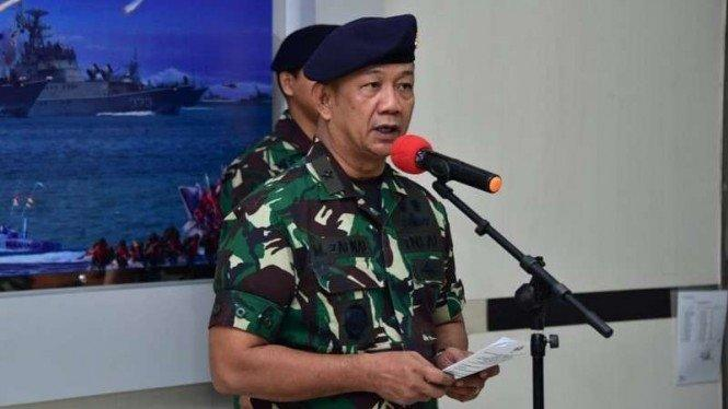 Sah, Laksma TNI Mohammad Zaenal Jadi Komandan Lantamal V yang Baru