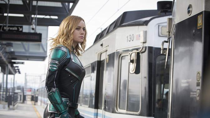 Cuplikan film Captain Marvel (Marvel Studios)