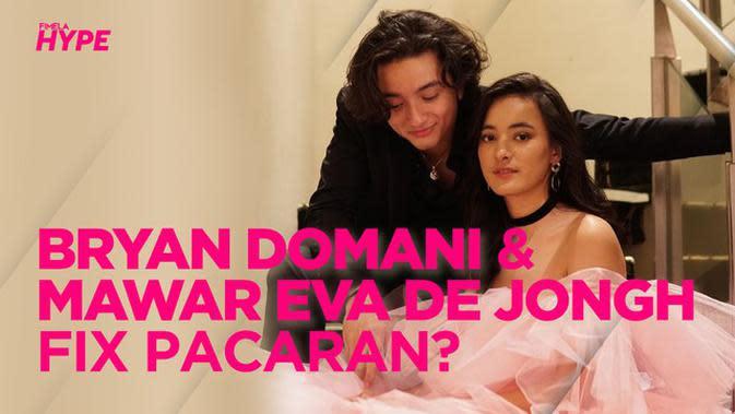 Bryan Domani dan Mawar Eva de Jongh Makan Malam Keluarga, Pacaran?