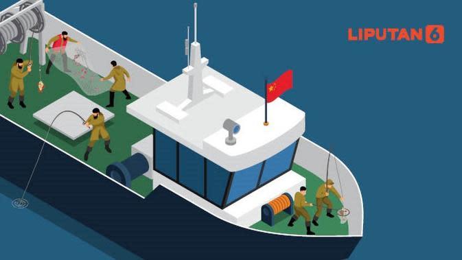 Banner Infografis Dugaan Perbudakan ABK WNI di Kapal Long Xing. (Liputan6.com/Abdillah)