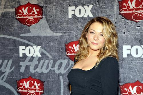 Singer LeAnn Rimes arrives at the American Country Awards on Monday, Dec. 10, 2012, in Las Vegas. (Photo by Jeff Bottari/Invision/AP)