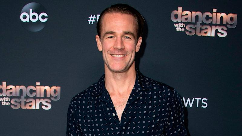 James Van Der Beek Posts Shirtless Selfies to Show His 'DWTS' Body Transformation