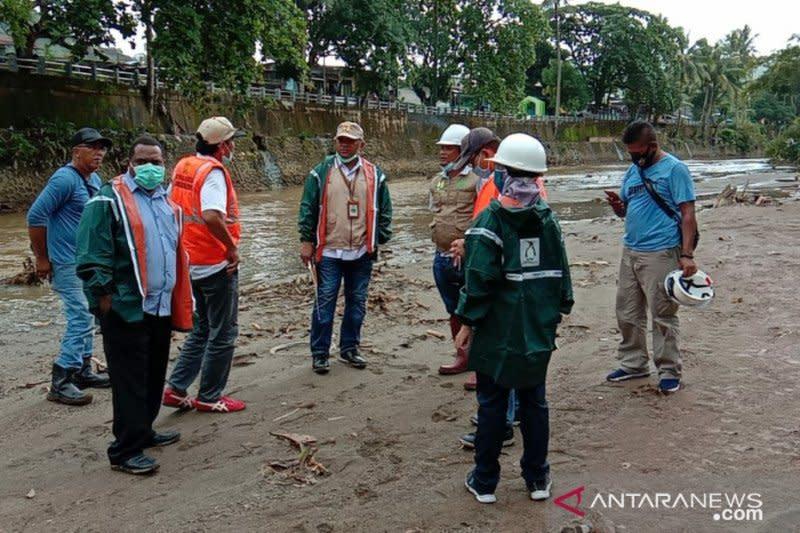 Kementerian PUPR tinjau lokasi banjir Kota Sorong
