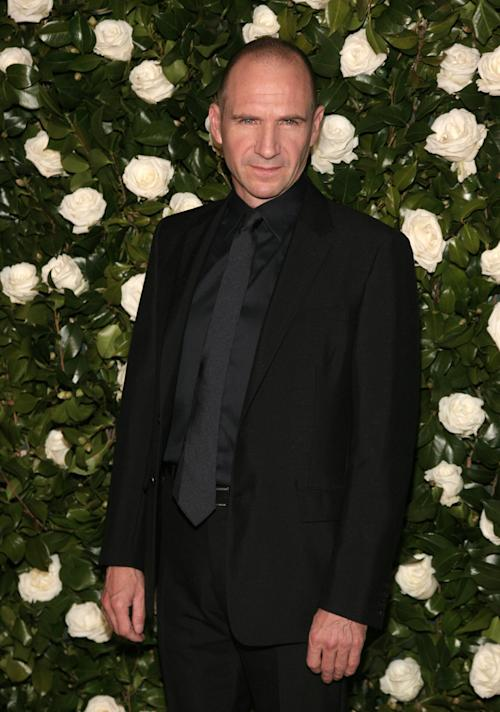 Actor Ralph Fiennes attends the the Museum of Modern Art Film Benefit on Tuesday, Nov. 5, 2013 in New York. (Photo by Andy Kropa/Invision/AP)