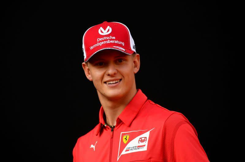 Schumacher and Ilott handed F1 practice slots