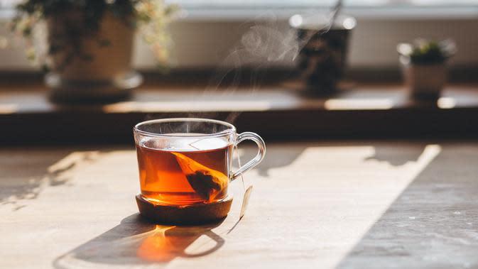 ilustrasi teh mencegah kolesterol/pexels