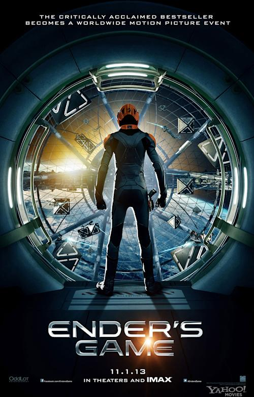 'Ender's Game' Exclusive Poster Reveal Gives First Glimpse at the Battle Room