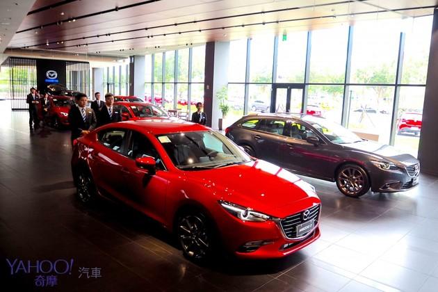全球最大Mazda新世代展間在台灣!台北內湖旗艦中心感受日系之美