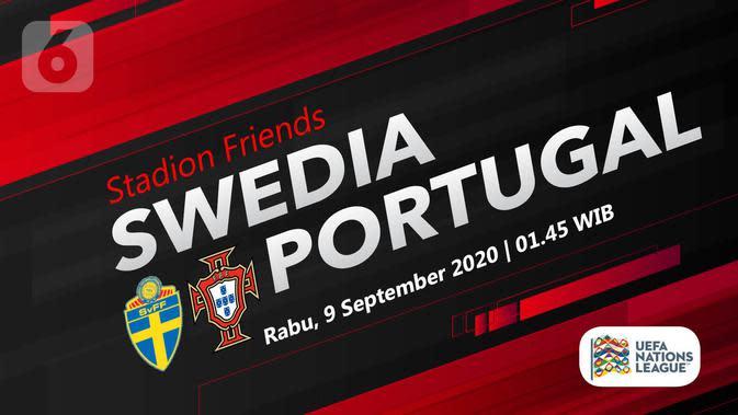 Swedia vs Portugal (Liputan6.com/Abdillah)