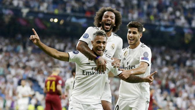 3. Real Madrid - 888 juta euro. (AP/Manu Fernandez)