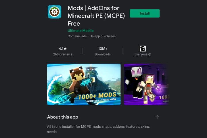 Mods Addons for MCPE